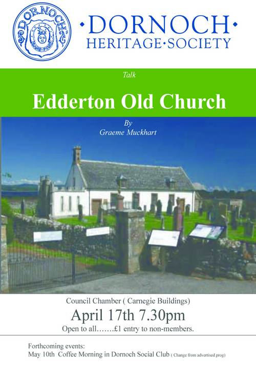 DHS talk 'Edderton Old Church'