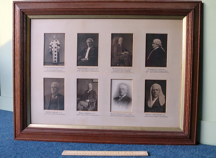 Sheriffs of Ross,Cromarty and Sutherland1874-1900