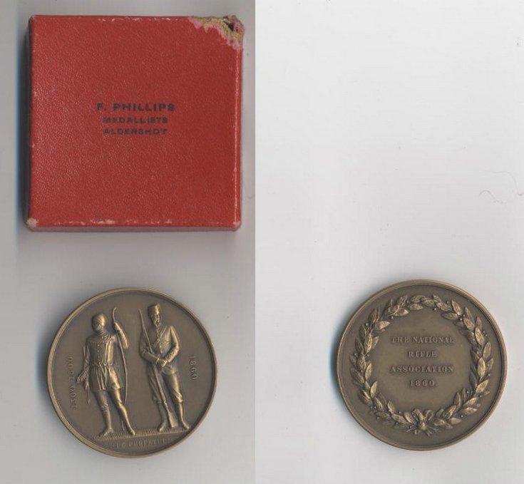 National Rifle Association Medal 1860