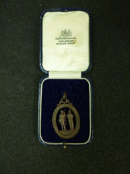 National Rifle Association open-work medal