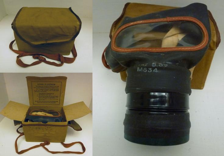 World War 2 civilian style, adult respirator