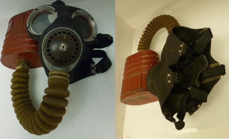 World War 2 No 4 Respirator