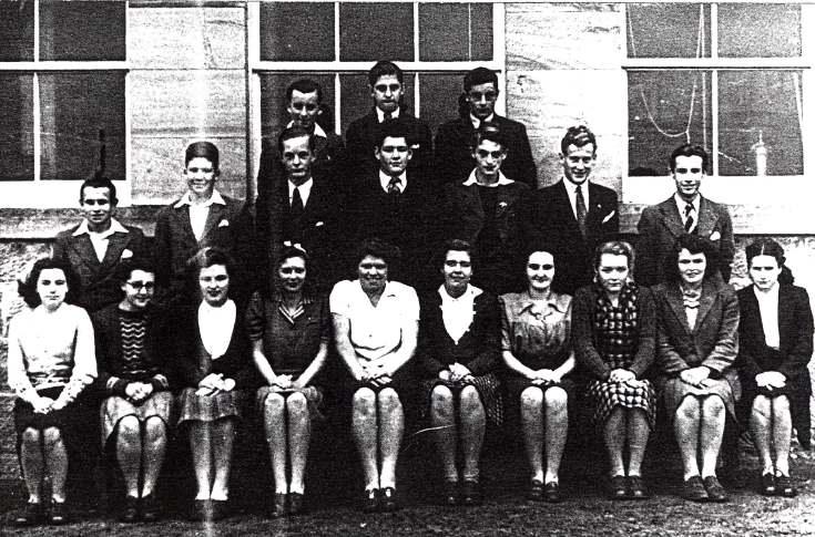 Dornoch Academy school photograph 1947-48