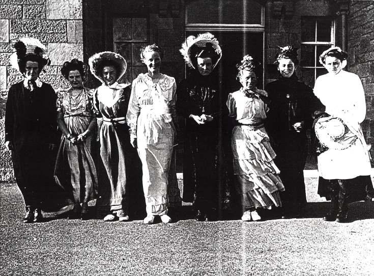Dornoch Academy school photograph 1950