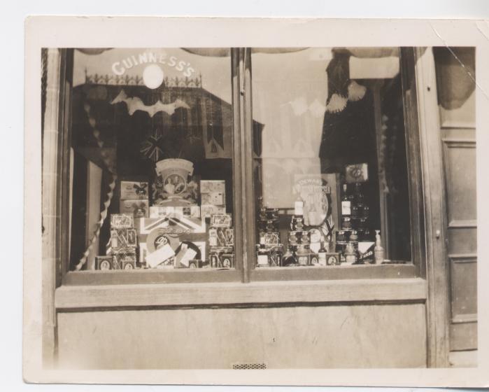 T S Matheson shop Castle Street, Dornoch