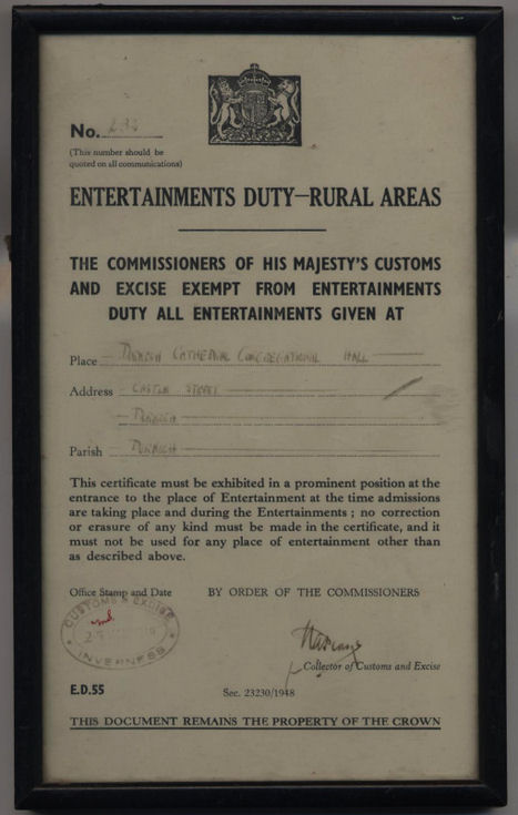 NEntertainments Duty - Rural Areas Exemption
