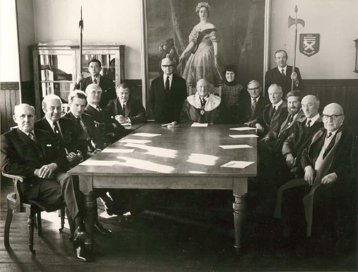 Last Town Council 1975