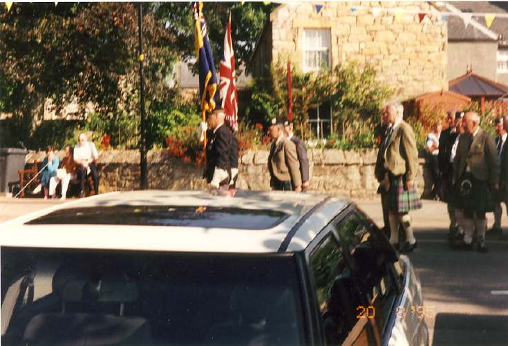 Rededication of the War Memorial? 1995