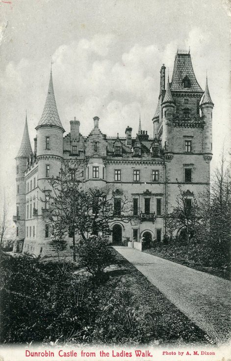 Dunrobin Castle from the Ladies Walk