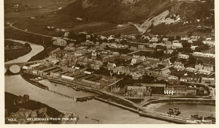 Helmsdale from the air c 1930