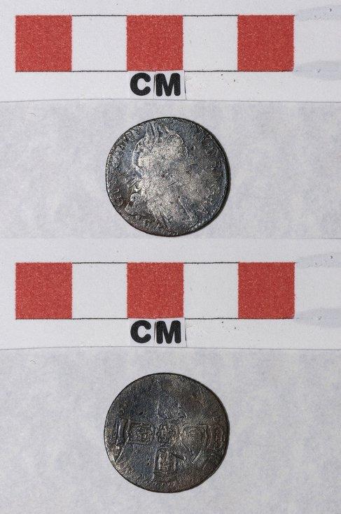 William III Silver sixpence