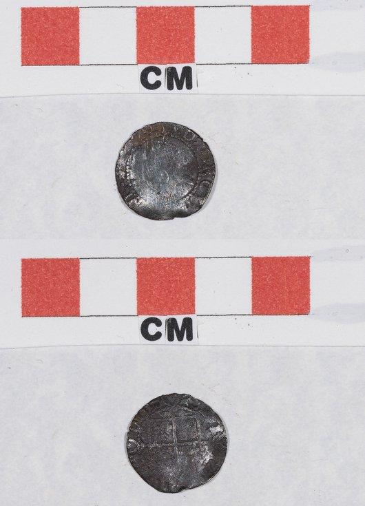 Elizabeth I Silver half groat coin
