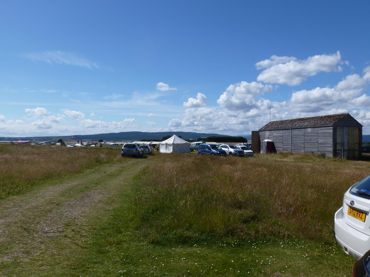 'Fly In' to Dornoch Airfield 2015