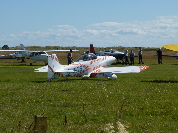 'Fly In' to Dornoch Airfield  2 August 2015