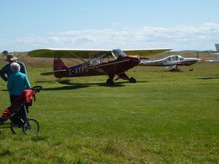 Day one of the 'Fly In' to Dornoch Airfield 2 Aug