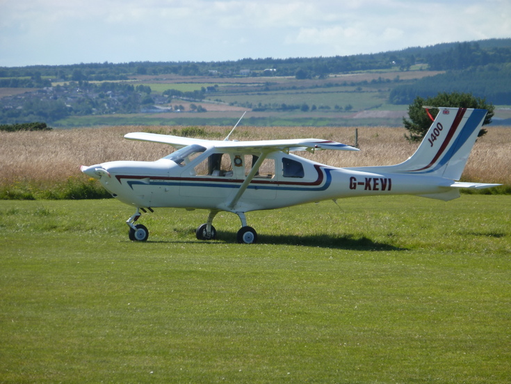 G-KEVI at the Fly In' to Dornoch Airfield 2 Aug 15