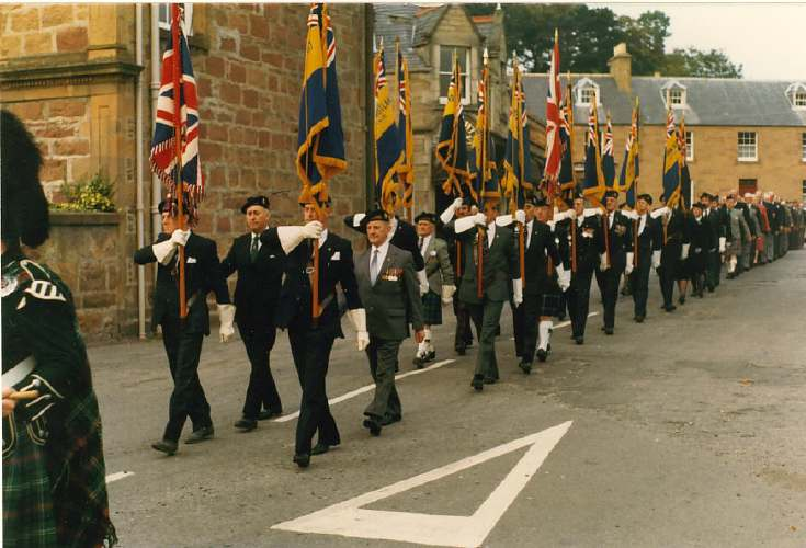 British Legion parade 1987