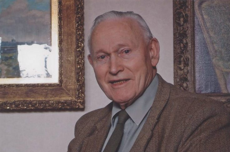 Dr Struan Robertson on his 90th birthday