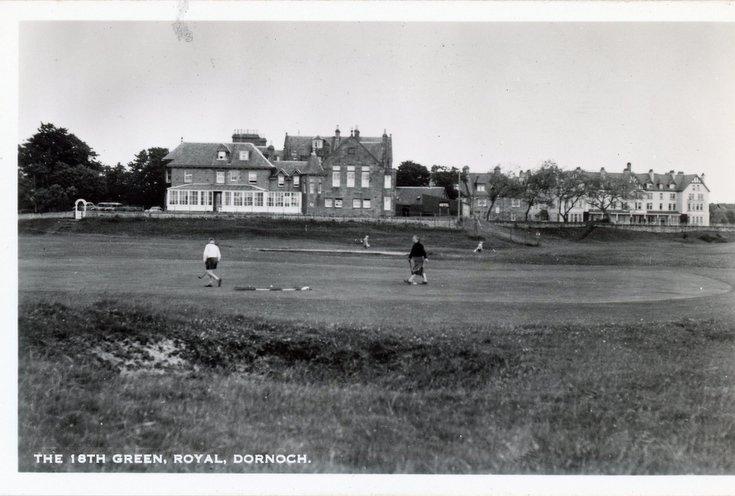 Royal Dornoch Golf Club 18th green
