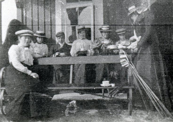 Lady golfers c 1900