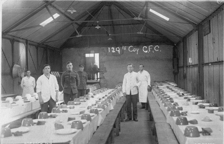 129th Company CFC mess