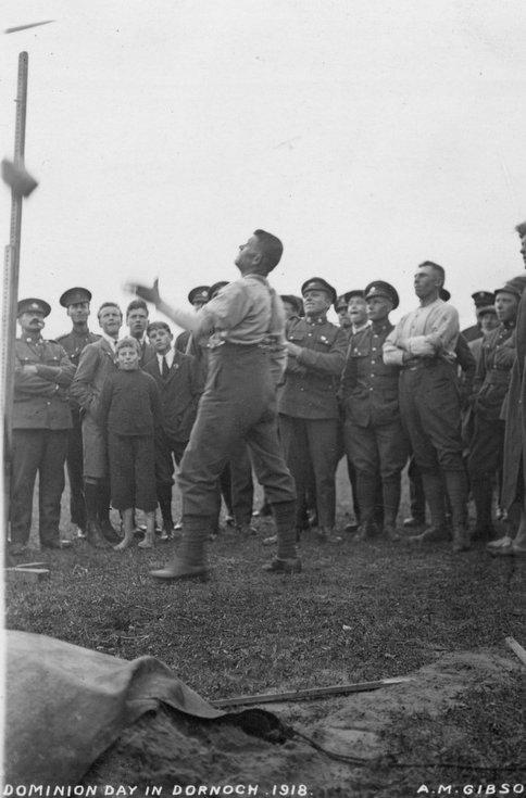 Dominion Day in Dornoch 1918