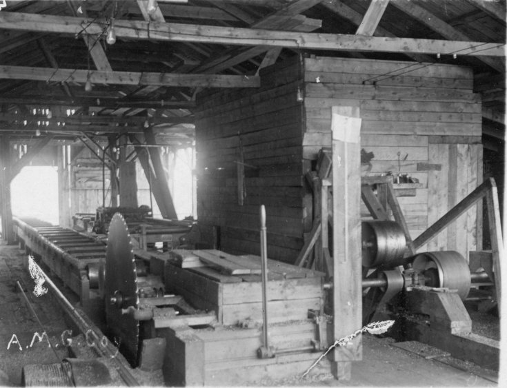 Sawmill used by A.M.G. Company