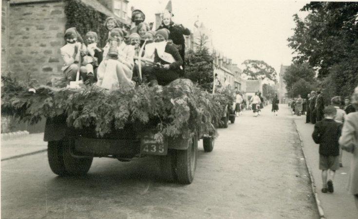 Coronation pageant float 1953