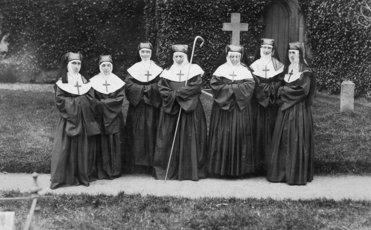 Nuns at the Dornoch Pageant 1928