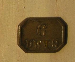 Watchmaker's 6 DWTS weight