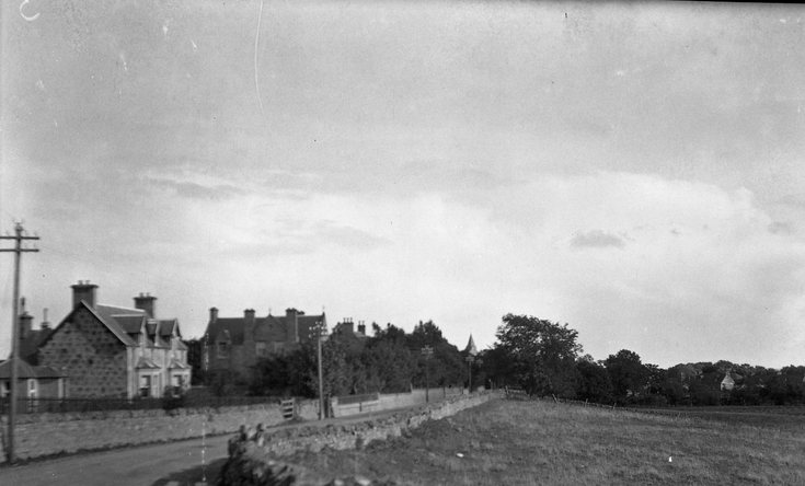 A949 Evelix Road approach to Dornoch