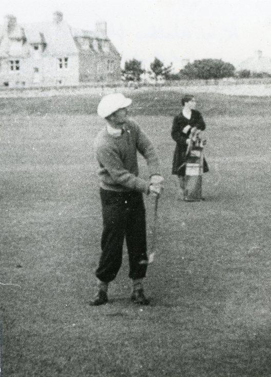 K W Walker playing in the Carnegie Shield
