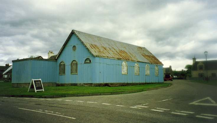 photograph of Embo village Hall