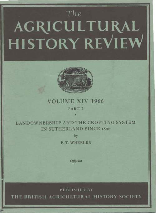 Agricultural history review