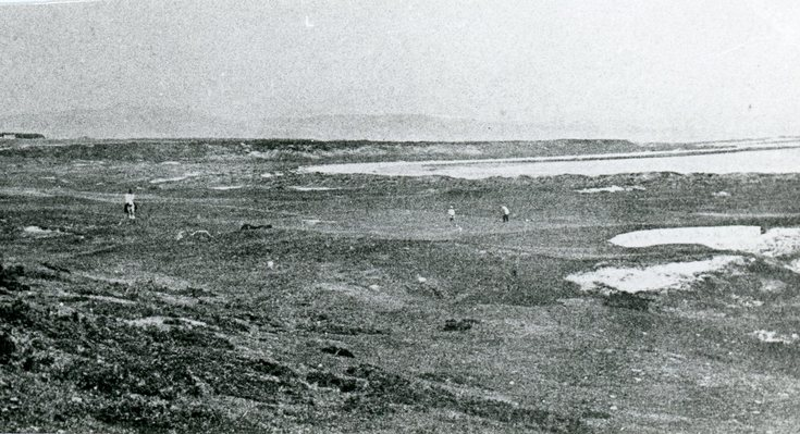 Early course photograph