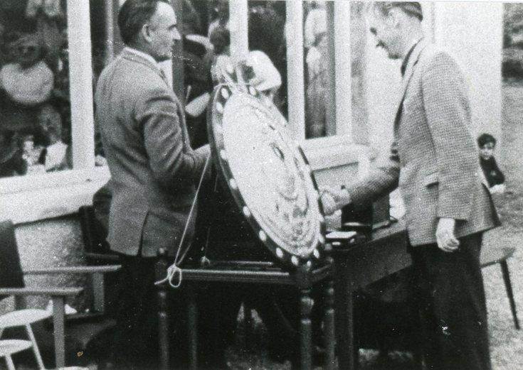Carnegie Shield presentation c 1950