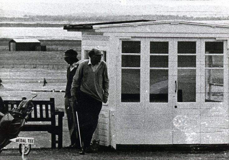Royal Dornoch Golf Club summerhouse