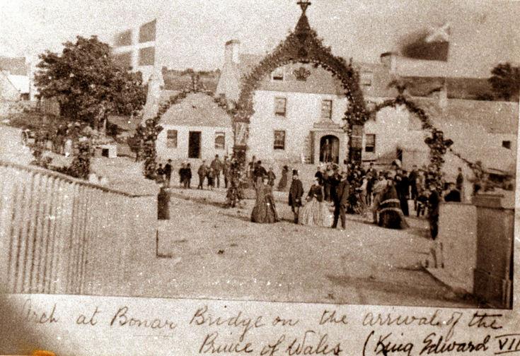 Arrival arch at Bonar Bridge