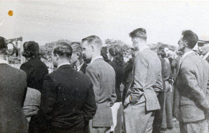 Highland Games spectators c 1960