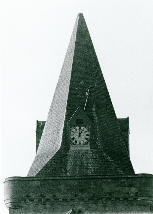 The Dornoch Cathedral clock