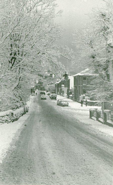 Snow in Castle Street c 1979