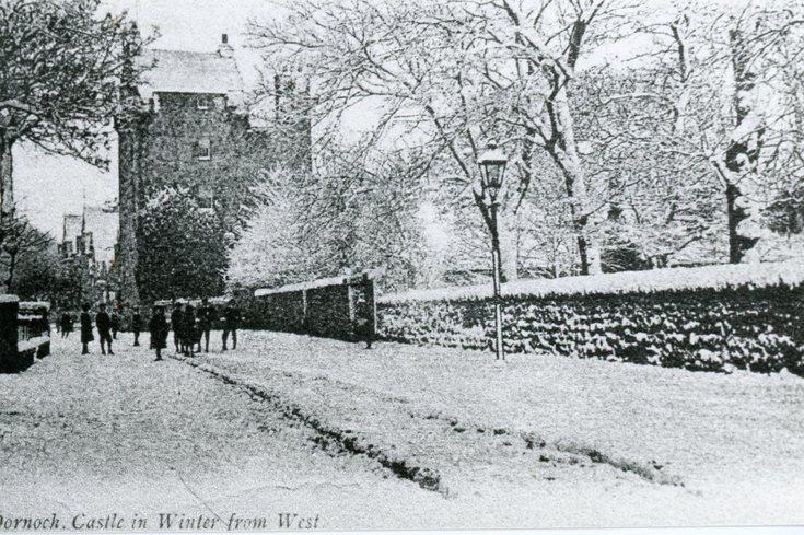 Castle Street in winter
