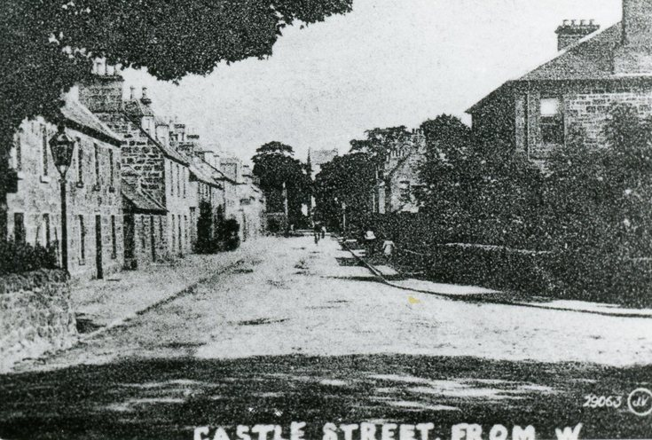 Castle Street from junction with Sutherland Road