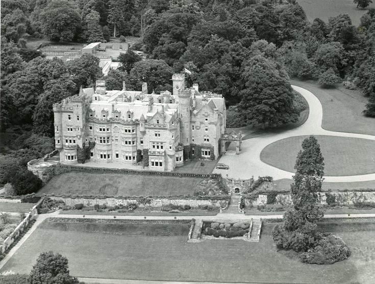 Aerial view of Skibo Castle