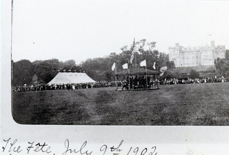 Skibo Castle fete July 9th 1902