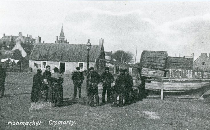 Fish Market at Cromarty