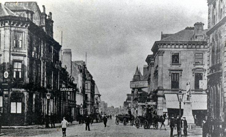 Academy Street, Inverness c 1910