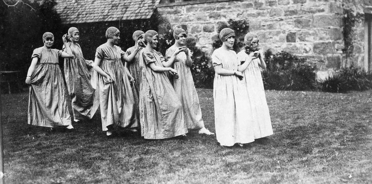 1928 Pageant Costumes Dancers