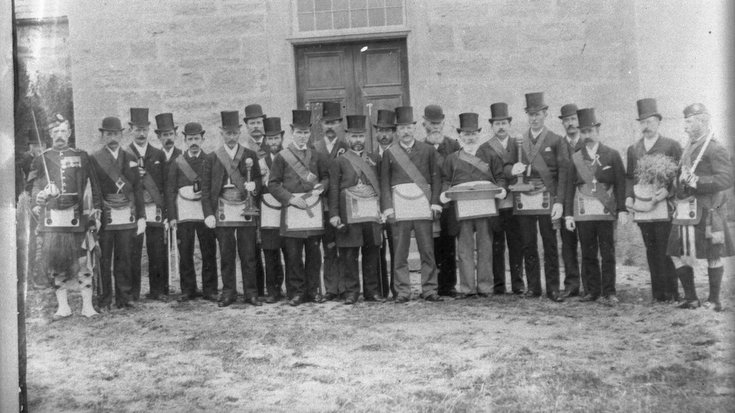 Dornoch Masons c 1920