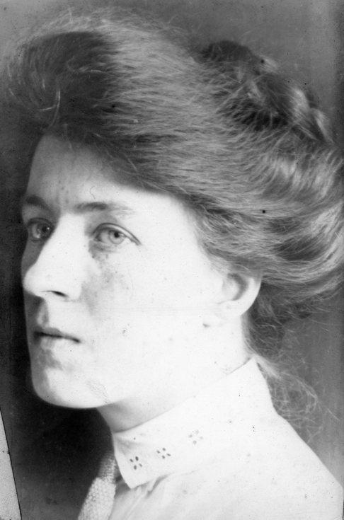 Studio photograph of Josephine MacDonald